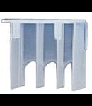 Protectie borna 3P pentru sina DIN si montare pe usa