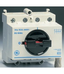 Separator de sarcina cu montare pe sina DIN, 3P+NF, 4 module, standard gri, 32A
