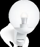 Lampa de exterior cu senzor IP44, max. 60W E27, alb, L 585 S