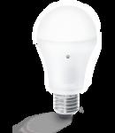 Bec LED cu senzor crepuscular, dulie E27, 6 W, 3200 K, lumina calda