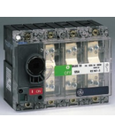 Separator de sarcina cu montare pe panou fara maner, 3P, transparent, 63A