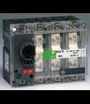 Separator de sarcina cu montare pe panou fara maner, 3P+NF, transparent, 125A