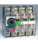 Separator de sarcina pentru montare pe panou fara maner, 3P+NF, transparent, 250A