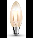 Bec led filament VT-1955 4W E14