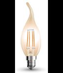 Bec led filament VT-1949 4W E14
