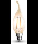Bec led filament VT-1947 4W E14