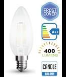 Bec led filament VT-1936 4W E14 6400k lumina alba