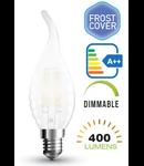 Bec led filament VT-1923 4W E14 4000k lumina neutra, dimabil