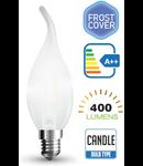 Bec led filament VT-1937 4W E14 6400k lumina alba