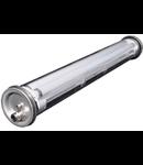 Lampa antivandalism Rinox IP68, L:1583 mm,2x58W,balast electronic
