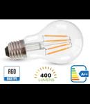 Bec led filament VT-1885 4W E27 2700k lumina calda