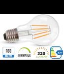 Bec led filament VT-1885D 4W E27 2700k lumina calda