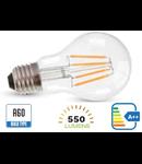 Bec led filament VT-1887 6W E27 2700k lumina calda