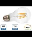 Bec led filament VT-1989 8W E27 2700k lumina calda