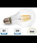 Bec led filament VT-1978 8W E27 2700k lumina calda