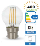 Bec led filament VT-2074 4W B22 2700k lumina calda