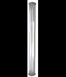 Lampa pentru spatii medicale ,Chemical IP68, L:1324 mm,1x36W,balast high factor