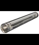 Lampa medii umede,antivandalism Resist IP68, L:671 mm,2x14 W,balast electronic