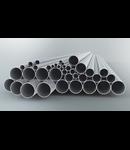 Tub metalic din aluminiu pentru cabluri electrice,D.ext.50 mm