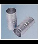Mufa de conectare teava aluminiu,diametru 40 mm