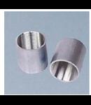 Mufa cu filet pentru conectare teava filetata aluminiu,diametru 63 mm