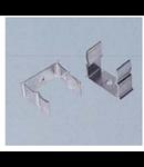 Clema de prindere pentru teava aluminiu,diametru 50 mm