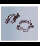 Clema de prindere cu surub pentru teava aluminiu,diametru 63 mm