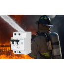 Dispozitiv protectie incendiu cauzat de arc electric 20A 10Ka Bipolar combinat cu diferential 30ma