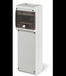 Organizator de santier  carcasa blank  pentru prize industriale 6 module IP66