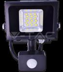 LED Proiector 10W V-TAC Senzor, alb cald, VT- 4810