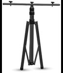 Trepied pentru proiectoare V-tac,negru,H:940-1800 cm