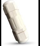 Cutie etansare legaturi electrice cu conector,IP 65,alb