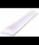 Lampa LED Prismatic aluminiu,10W, 30 cm,alb rece