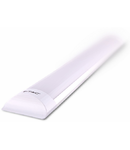 Lampa LED Prismatic aluminiu,40W, 120 cm,alb nrece