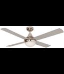 Lustra  cu ventilator 2 becuri E27 3 viteze Cross grin  122cmx29-42cm
