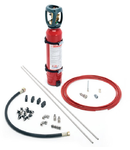 Kit instalatie de sintegere incendiu in tablou electric 7.5mc 10 litri CO2