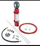 Kit instalatie de sintegere incendiu in tablou electric 7.5mc 10 litri CO2