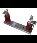 Suport monopolar de exterior pentru sigurante fuzible de medie tensiune VV grupa 192mm 7.2kv