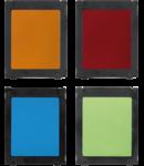 Lentila colorata pentru Lampa fatada  K3 Writer