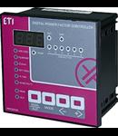 Controler in 6 trepte pentru  baterii de compensarea factorului de putere