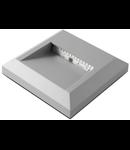 Spot aparent pentru montaj la scari sau socluri 2W 3000K IP65