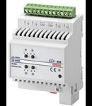Actuator comanda jaluzele 2 canale 6A/canal KNX