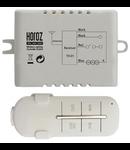 Releu radio controlat cu telecomanda  - receptor 2 canale X 1000w