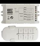 Releu radio controlat cu telecomanda  - receptor 3 canale X 1000w