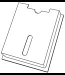 Buzunar tablou electric pentru scheme monofilare 155x255mm