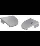 Capace Profil LED unghiular alb AP208 30x30mmKT