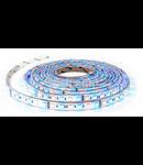 Banda LED - 60 LED-uri/m,RGB+ alb cald 3000K, non-rezistent la apa, 10.8W/12V