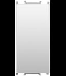 Intrerupator cap cruce alb 1 modul  Thea Optima
