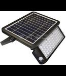 Proiector LED solar 10W, pentru exterior cu senzor de miscare incorporat