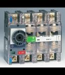 Separator de sarcina pentru montare pe panou fara maner, 3P+N, transparent, 630A